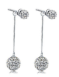cheap -Women's Stud Earrings Fashion Sweet Zircon Alloy Drop Jewelry Party Office & Career Costume Jewelry