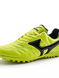 cheap -Men's Shoes Leather Spring / Fall Comfort Athletic Shoes Soccer Shoes Black / Green