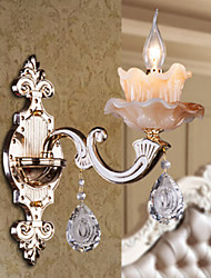 cheap -Crystal Modern/Contemporary Wall Sconces For Bedroom Wall Light 40W
