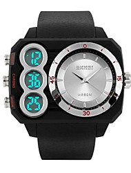 cheap -Men's Women's Casual Watch Sport Watch Fashion Watch Japanese Digital Calendar / date / day Water Resistant / Water Proof Dual Time Zones