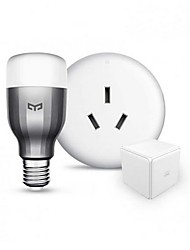 abordables -xiaomi aqara smart home devices kit smart yeelight control de cubos aire acondicionado compañero inteligente timing y reserva