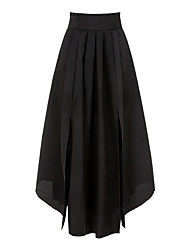 preiswerte -Damen Ausgehen Schaukel Röcke - Solide Schleife