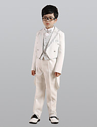 cheap -Swallowtail Boy Suit Six piece Suit Includes Jacket Pants Vest Bow Tie Shirt