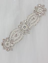 abordables -nupcial diamante perla diamante vestido de novia bolas flores