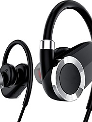 preiswerte -bluetooth kopfhörer mit mic wireless ear hook headsets sport musik für handy ios power display sprachansagen