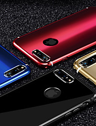 cheap -Case For iPhone 7 Plus iPhone 7 Apple iPhone 8 iPhone 8 Plus Mirror Back Cover Solid Colored Hard Metal for iPhone 8 Plus iPhone 8 iPhone