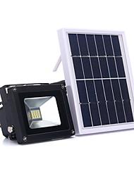 1pc 5w levou luzes solares controle de luz impermeável iluminação exterior frio branco