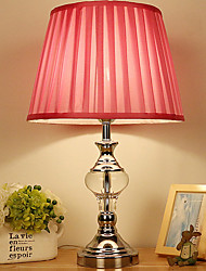 cheap -Crystal Crystal Table Lamp For Crystal 220-240V Light Pink
