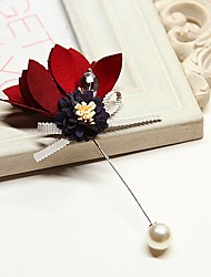 cheap -Women's Brooches Jewelry Korean Alloy Flower Jewelry For Wedding Daily