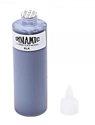 cheap -Dynamic Professional Permanent Tattoo Makeup Ink (250ml) Black