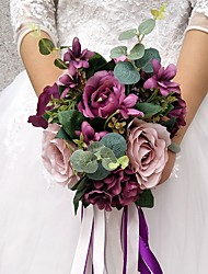 preiswerte -Hochzeitsblumen Sträuße Hochzeit Party Sonstiges Material ca.28cm