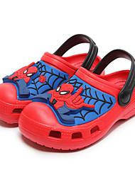 baratos -Para Meninos sapatos EVA Primavera Verão Conforto Chinelos e flip-flops para Casual Preto Vermelho Azul