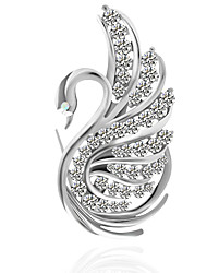 cheap -Women's Brooches - Metallic / Basic Irregular Silver Brooch For Wedding / Party