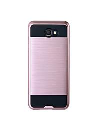 Capinha Para Samsung Galaxy J7 Prime J5 Prime Antichoque Corpo Inteiro Côr Sólida Rígida TPU para J7 Prime J7 (2016) J7 J5 Prime J5
