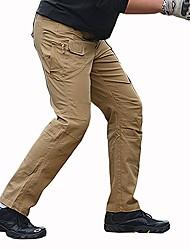 Недорогие -Муж. Штаны для туризма и прогулок На открытом воздухе Учебный Прогулки Стреч Брюки Охота Пешеходный туризм Восхождение