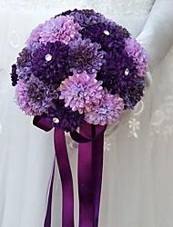 abordables -Fleurs de mariage Bouquets Mariage Occasion spéciale Autre matériel Polyester 22cm