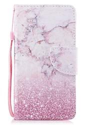 abordables -Coque Pour Samsung Galaxy S8 Plus S8 Porte Carte Portefeuille Avec Support Clapet Magnétique Motif Coque Intégrale Marbre Dur faux cuir