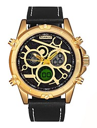 cheap -Men's Kid's Fashion Watch Dress Watch Wrist watch Japanese Quartz Calendar / date / day Chronograph Water Resistant / Water Proof Casual