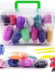 baratos -Plastilina Brinquedos Inovador Família Simples Transformável Rapazes Raparigas 12 Peças