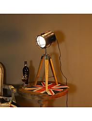 Luz Ambiente Luminária de Mesa Ajustável Interruptor On/Off Alimentação AC 220V Branco Preto Amarelo Escuro Marron