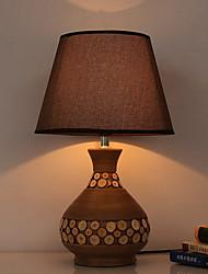 economico -Artistico Pretezione per occhi Lampada da tavolo Per Ceramica 220V Marrone