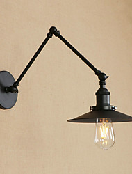 cheap -Mini Style Retro/Vintage Country Traditional/Classic Swing Arm Lights For Living Room Study Room/Office Metal Wall Light 220-240V 110-120V