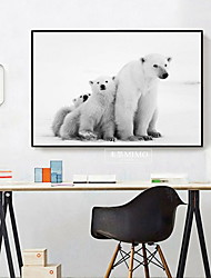 cheap -Animals Oil Painting Wall Art,Alloy Material With Frame For Home Decoration Frame Art Kitchen Dining Room