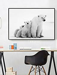 economico -Animali Ad olio Decorazioni da parete,Lega Materiale con cornice For Decorazioni per la casa Cornice Cucina Sala da pranzo