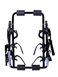 cheap -Bike Trunk Mount Rack Cycling Portable Foldable Travel Steel Tube