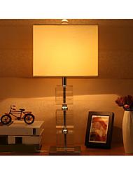 abordables -Luz Ambiente Artístico Lámpara de Mesa Protección para los Ojos Interruptor On/Off Alimentación AC 220v Marfil