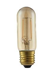 preiswerte -1pc 2W 180lm E27 LED Glühlampen T30 2 LEDs COB LED-Lampen Dekorativ Warmes Weiß 2200K AC 220-240V