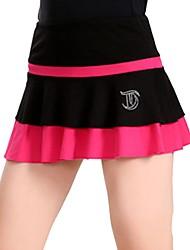 economico -Vestito da pattinaggio artistico Per donna Bambini Pattinaggio sul ghiaccio Felpa Pantaloni Rosso rosa Azzurro cielo Verde Rosa Elastico