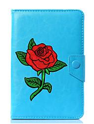economico -Custodia universale per cover in pelle di cuoio per tablet da 7 pollici, 8 pollici, 9 pollici, tablet pc da 10 pollici