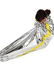 billiga Sport och friluftsliv-AOTU Överlevnadsfilt Nödsovsäck Utomhus Enkel 26 °C Rektangulär syntetisk Strålningsskydd värmelagrande Värmeisolerad för Camping Resa Utomhus Alla årstider Camping & Vandring Friluftsliv