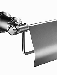 Недорогие -Modern Держатели для туалетной бумаги Нержавеющая сталь Номера Мини Однотонный