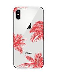 economico -Custodia Per Apple iPhone X iPhone 8 Plus iPhone 7 iPhone 7 Plus iPhone 6 Fantasia/disegno Custodia posteriore Paesaggi Morbido TPU per
