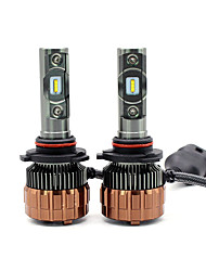 cheap -2PCS 2018 NEW  60W 8000LM HB4 9006 V6S LED Lamp Headlight Kit Car Beam Bulbs 6000k White Canbus 12-24V