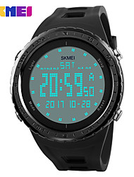cheap -Men's Women's Digital Digital Watch Sport Watch Chinese Calendar / date / day Water Resistant / Water Proof Moon Phase Noctilucent