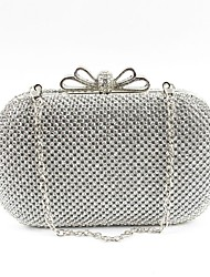cheap -Women's Bags Metal Evening Bag Crystals Gold / Black / Silver