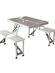 Недорогие -Складное туристическое кресло Туристический стол Складной Алюминиевый сплав для Походы