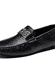 Men's Shoes Customized Materials Spring Fall Comfort Loafers & Slip-Ons for Casual Office & Career Blue Green Brown Black White