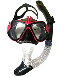 cheap -Diving Packages Diving Mask Snorkeling Packages Valentine Anti-Fog Youth Swimming Diving PC (Polycarbonate) Silicon