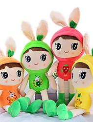 Недорогие -Rabbit Животный принт Мягкие и плюшевые игрушки Милый стиль Для детской Праздник Животные На каждый день Подарок