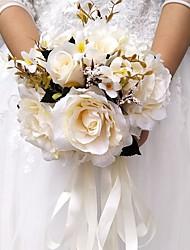 economico -Bouquet sposa Bouquet Matrimonio Da sera Altro Materiale Poliestere 28cm 30 cm ca.