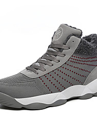 cheap -Men's Shoes Knit Spring Fall Comfort Athletic Shoes Basketball Shoes for Athletic Outdoor Burgundy Gray Black