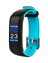 cheap -HHY new smart Bluetooth Bracelet P1 plus heart rate blood pressure sleep monitoring sports bracelet Android IOS colorful screenHHY New Smart Bluetooth
