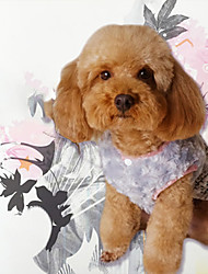 cheap -Dog Sweatshirt Jumpsuit Dress Dog Clothes Stylish Keep Warm Leisure Toiles Crewels Yarn Dyed Reactive Print Bowknot Costume For Pets