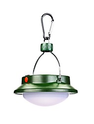 cheap -Lanterns & Tent Lights Emergency Lights LED 100 lm Automatic Mode LED Form Fit Camping/Hiking/Caving Green