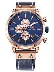 Homens Relógio de Moda Relógio Elegante Relógio de Pulso Japanês Quartzo Calendário Cronógrafo Impermeável Noctilucente Relógio Casual