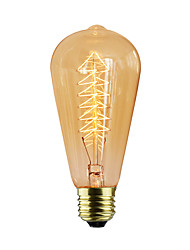cheap -E27 40W ST64 Tree Creative Edison Light Source High Quality